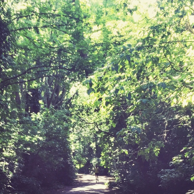 London Running Routes: Parkland Walk