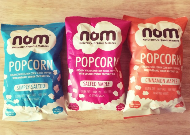 Head to Tone Blog: nom foods popcorn review