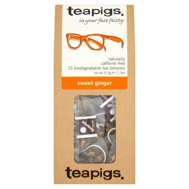 Head to Tone Blog: Review: Teapigs Sweet Ginger decaffeinated tea